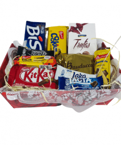 Cesta de chocolates delicia rj