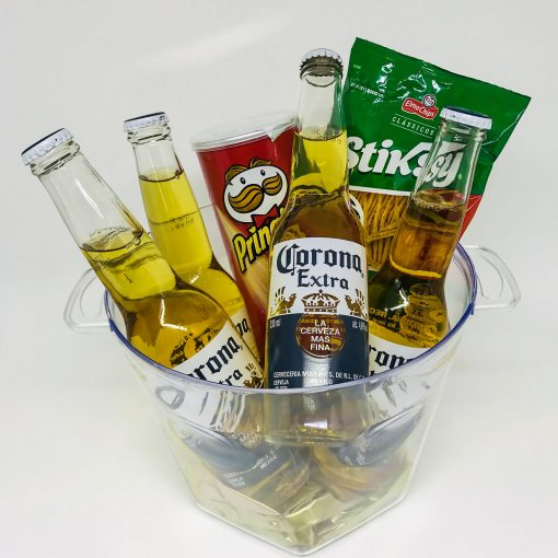 balde happy hour cerveja corona